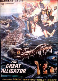The Great Alligator movie poster