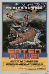 Eaten alive movie poster